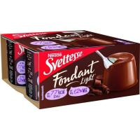 Yogur fondant de chocolate SVELTESSE, pack 4x125 g