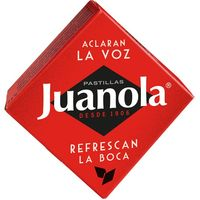 Pastillas clásicas de regalíz pequeña JUANOLA, caja 5,4 g