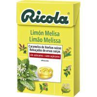 Caramelos de limón-melisa RICOLA, caja 50 g