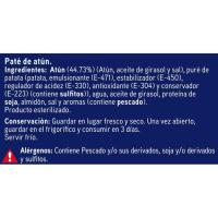 Paté de atún EROSKI, pack 2x78 g