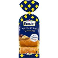 Napolitana de chocolate PASQUIER, 6 unid., paquete 270 g
