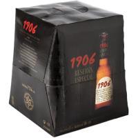 Cerveza 1906 ESTRELLA GALICIA, pack 9x25 cl