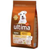 Alimento de pollo para perro mini adulto ULTIMA, saco 1,5 kg