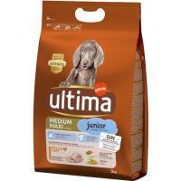 Alimento para perro mediano-maxi junior ULTIMA, saco 3 kg