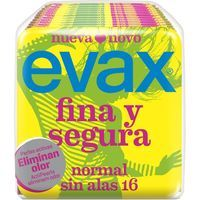 Compresa sin alas EVAX F&S, paquete 16 unid.