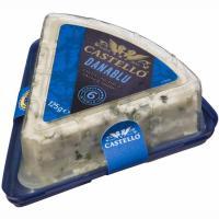 Queso azul Danablu CASTELLO, tarrina 100 g