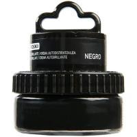 Crema negra para calzado EROSKI, tarro aplicador 1 ud.
