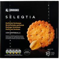 Galleta de mantequilla Eroski SELEQTIA, caja 200 g