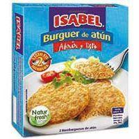 Burguer de atún  ISABEL, caja 150 g