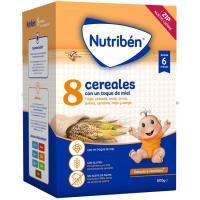 8 Cereales con miel NUTRIBEN, caja 600 g