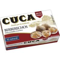 Berberecho 40/55 piezas CUCA, lata 63 g
