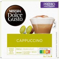 Café Cappuccino NESCAFÉ Dolce Gusto, caja 16 monodosis