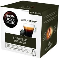 Café espresso intenso NESCAFÉ Dolce Gusto, caja 16 monodosis