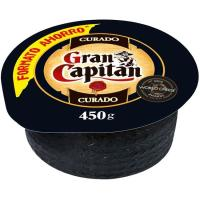 Queso curado mini GRAN CAPITAN, pieza 450 g