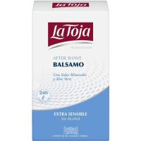 After Shave Balsam Sens. LA TOJA, frasco 100 ml