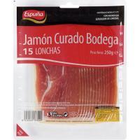 Jamón curado ESPUÑA, sobre 250 g
