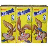 Batido de cacao NESQUIK, pack 3x200 ml