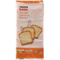Biscote EROSKI basic, 100 rebanadas, paquete 750 g