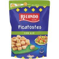 Picatostes tostados sabor a ajo RECONDO, bolsa 80 g