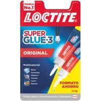 Pegamento LOCTITE Super Glue-3 Duplo, 2x3gr
