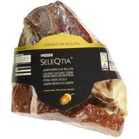 Jamón bellota 75% raza ibérica c. cuchillo SELEQTIA, sobre aprox 100 g