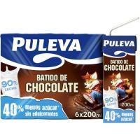 Batido de cacao PULEVA, pack 6x200 ml