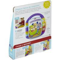 Libro interactivo aprendizaje perrito, pilas no inc,edad rec:+6 meses FISHER PRICE