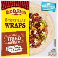 Tortillas integrales OLD EL PASO, paquete 350 g