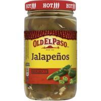 Sliced jalapeños OLD EL PASO, frasco 215 g