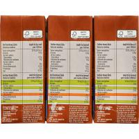 Batido de cacao EROSKI, pack 6x200 ml