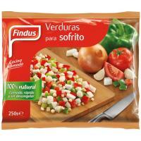 Verdura para sofrito FINDUS, bolsa 250 g