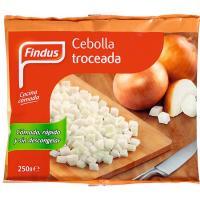 Cebolla troceada FINDUS, bolsa 250 g