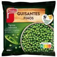 Guisante fino FINDUS, bolsa 400 g