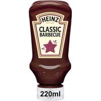 Salsa barbacoa HEINZ, bocabajo 220 g