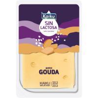 Queso Gouda sin lactosa KAIKU, lonchas, bandeja 150 g