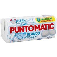 Detergente blanco en pastillas PUNTOMATIC, paquete 4 dosis