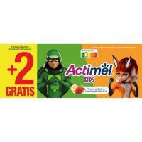 Yogur para beber de fresa-plátano ACTIMEL, pack 6x100 ml