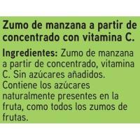 Zumo de manzana EROSKI, pack 6x200 ml