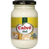Salsa alioli CALVÉ, frasco 225 g