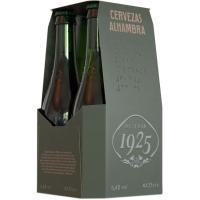 Cerveza Reserva 1925 ALHAMBRA, pack 4x33 cl