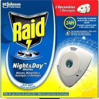 Insecticida eléctrico night&day RAID, recambio 2 uds.