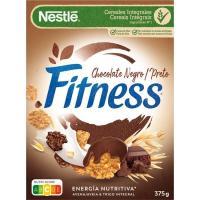 Cereal de chocolate negro NESTLÉ Fitness, caja 375 g