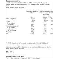 Gazpacho original ALVALLE, pack 2x1 litro