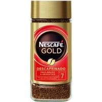 Café soluble descafeinado NESCAFÉ Gold, frasco 100 g