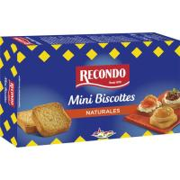 Mini biscottes RECONDO, caja 120 g