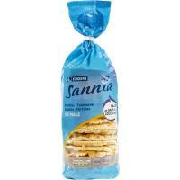 Tortitas de maíz EROSKI Sannia, paquete 130 g