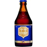 Cerveza belga azul CHIMAY, botellín 33 cl