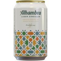 Cerveza Especial ALHAMBRA, lata 33 cl