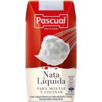Nata liquida para montar y cocinar PASCUAL, brik 200 ml