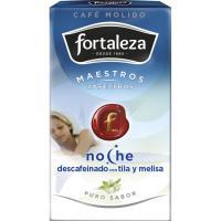 Café molido descafeinado con melisa FORTALEZA, paquete 250 g